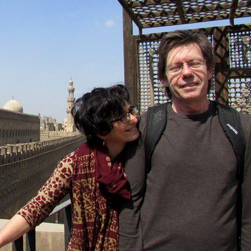 Alan & Aliza at Guyer-Anderson Museum, Cairo