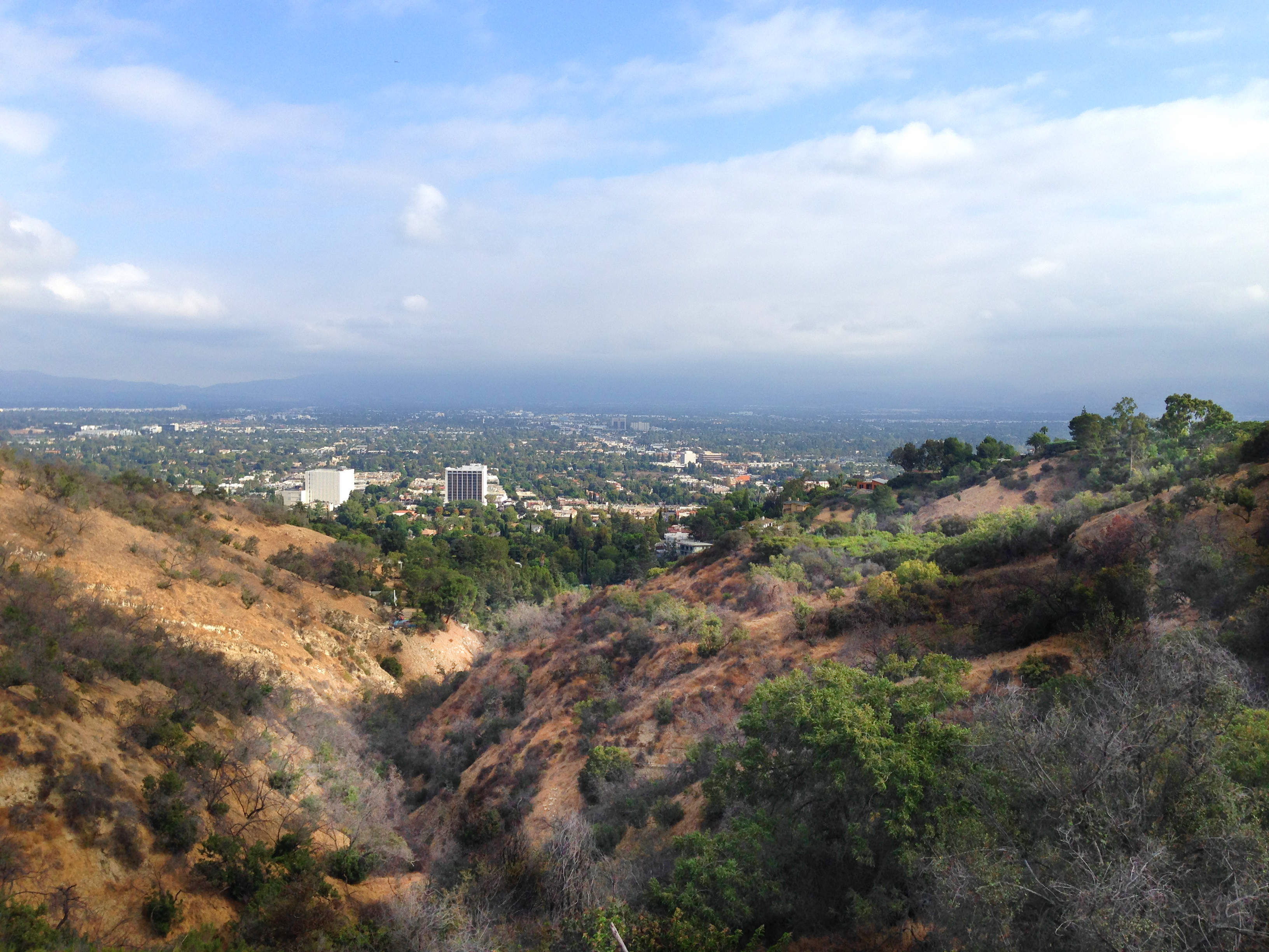 Valley view from top of canyon