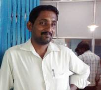 Dr. Rajasekar, medical director at the Arunachala Animal Sanctuary and Rescue Shelter