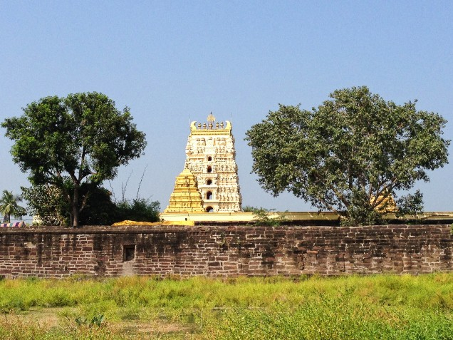 Temple from Sita's farm