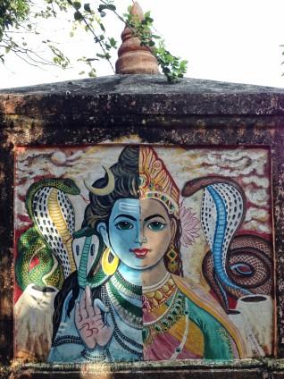 Shiva Shakti hill temple, Gokarna