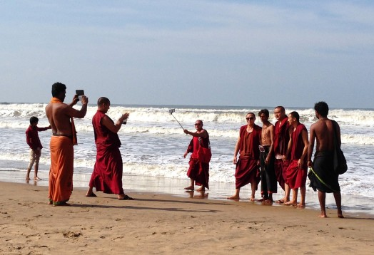 Tibetans on Beach.jpg