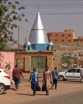 Street scene in Omdurman.