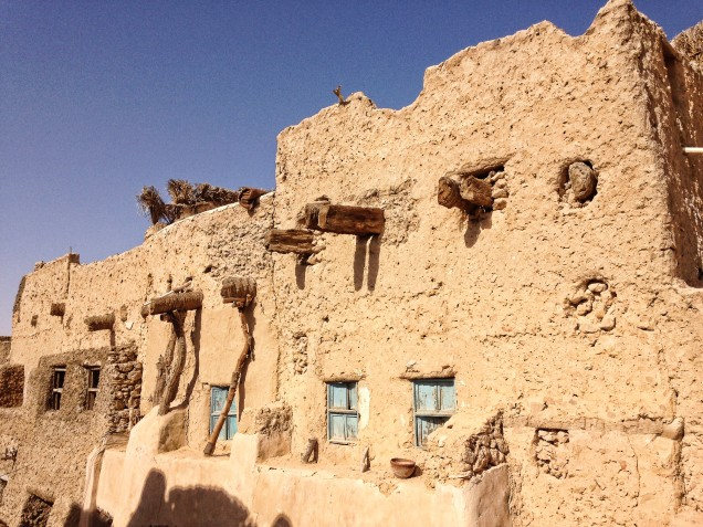 To stay intact, the kersheef houses in the Shali require constant repair and restoration.