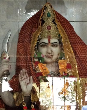 Durga, another aspect of the Mother.