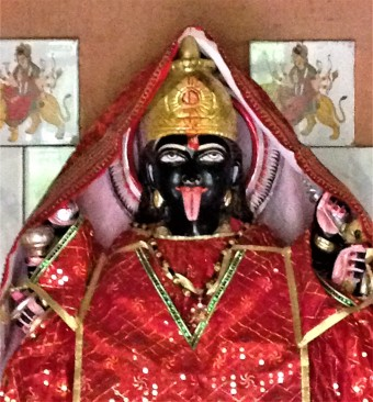 Kali, one aspect of the Mother.