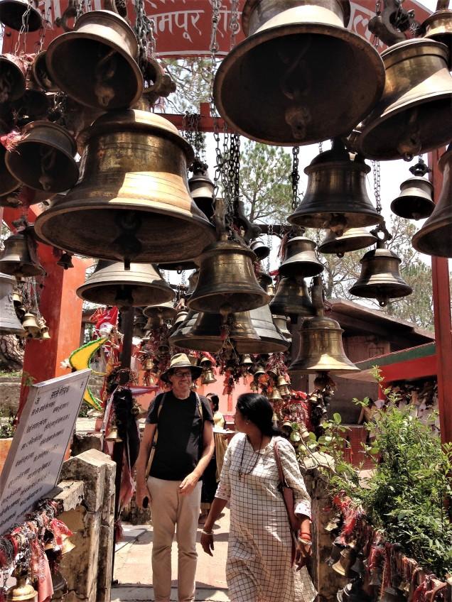 Alan at the Chitai Golu Devta Temple, Almora, Uttarakhand
