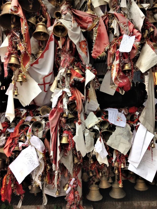 Bells and petitions at Chitai Golu Devta Temple