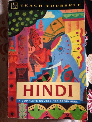 Cover of Teach Yourself Hindi by Rupert Snell and Simon Weightman.