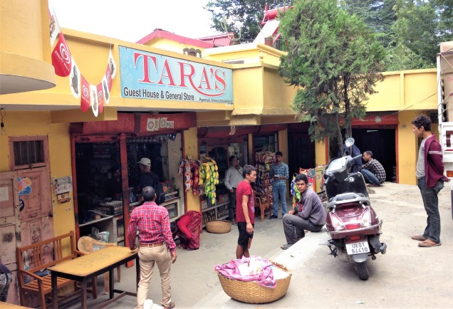Tara's General Store, Papershali, near Almora, Uttarakhand