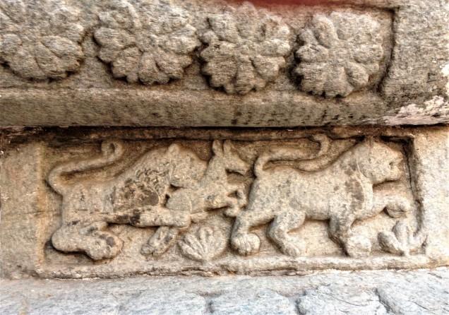 Hunting lions at Nanda Devi Temple, Almora, Uttarakhand