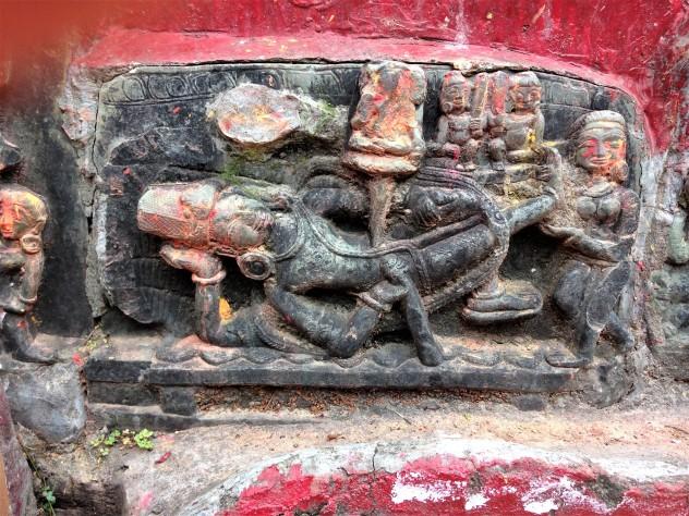 Reclining Shiva.