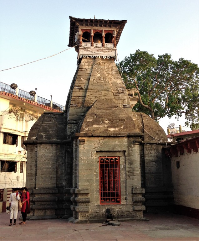 The second thousand-year-old temple structure at Nanda Devi Mandir, Almora, Uttarakhand