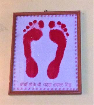 Ma's footprints