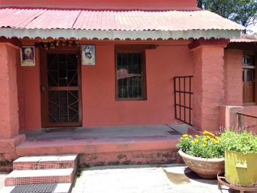 Ma's room at the Ma Anandamayi ashram in Patal Devi, Almora, Uttarakhand