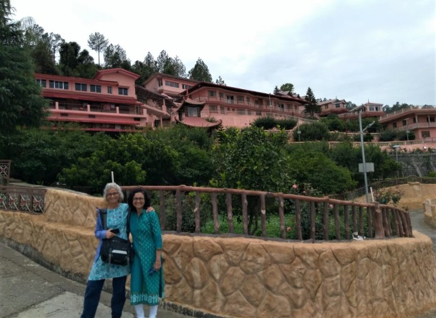 Nayana and Aliza at Dol Ashram, Uttarakhand. Photo by Prashant Gupta.