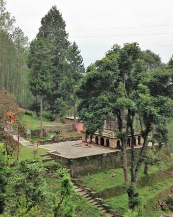 Patal Devi temple below Ma Anandamayi ashram, Almora, Uttarakhand