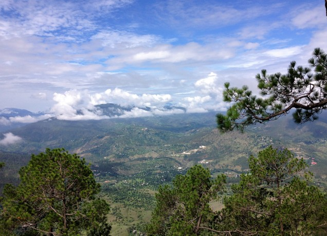 View from Kasar Devi Mandir, Almora, Uttarakhand