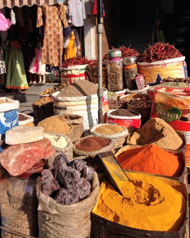 Market at Haldwani