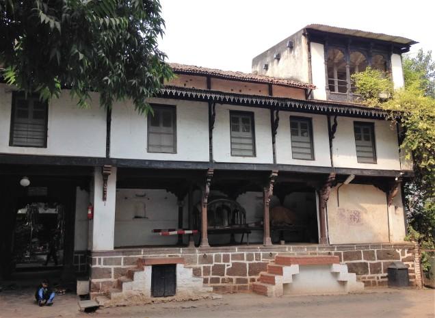 Ahilyabai palace exterior