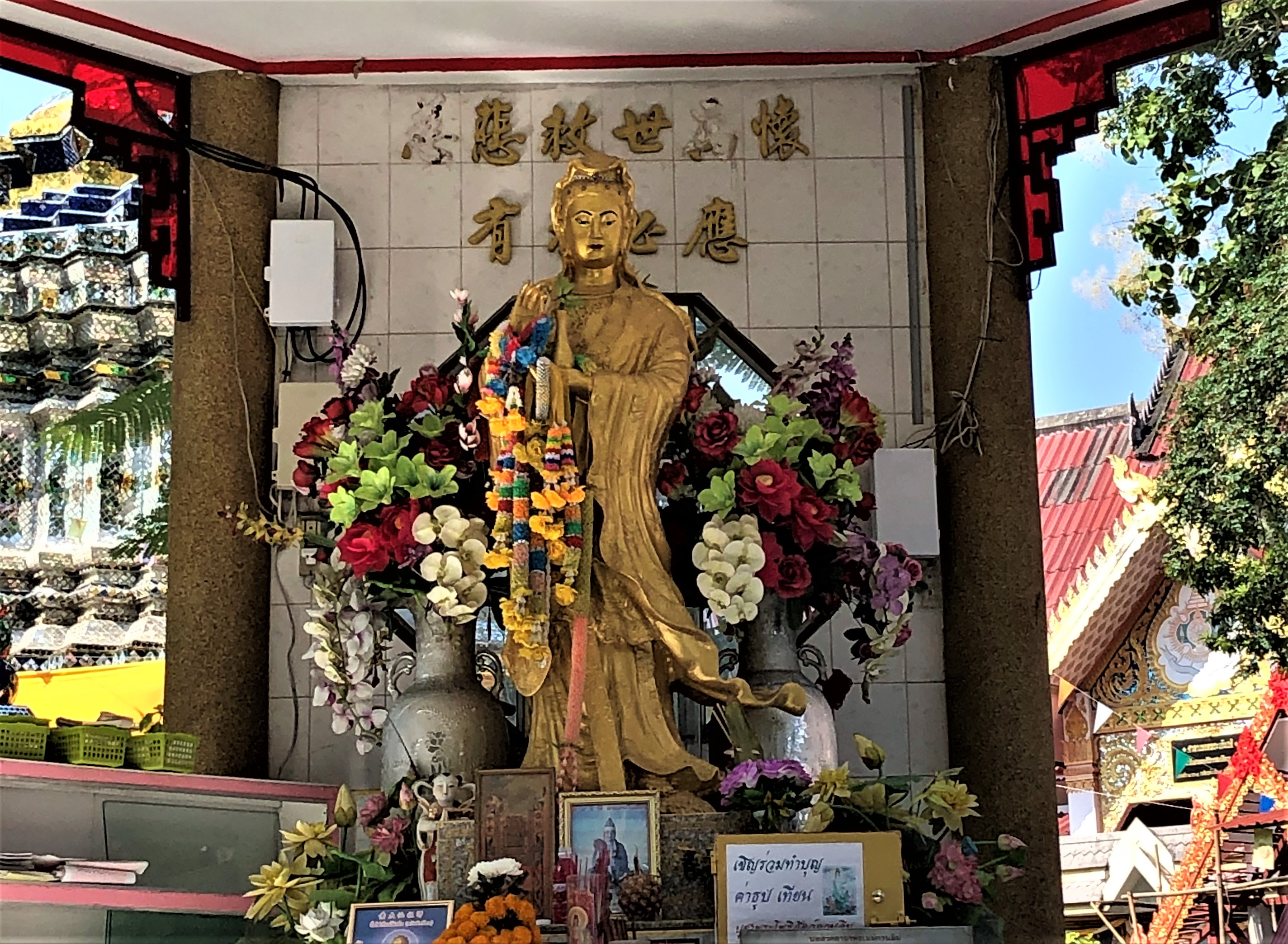 Kwan Yin at Wat Phra That Doi Khao Kwai