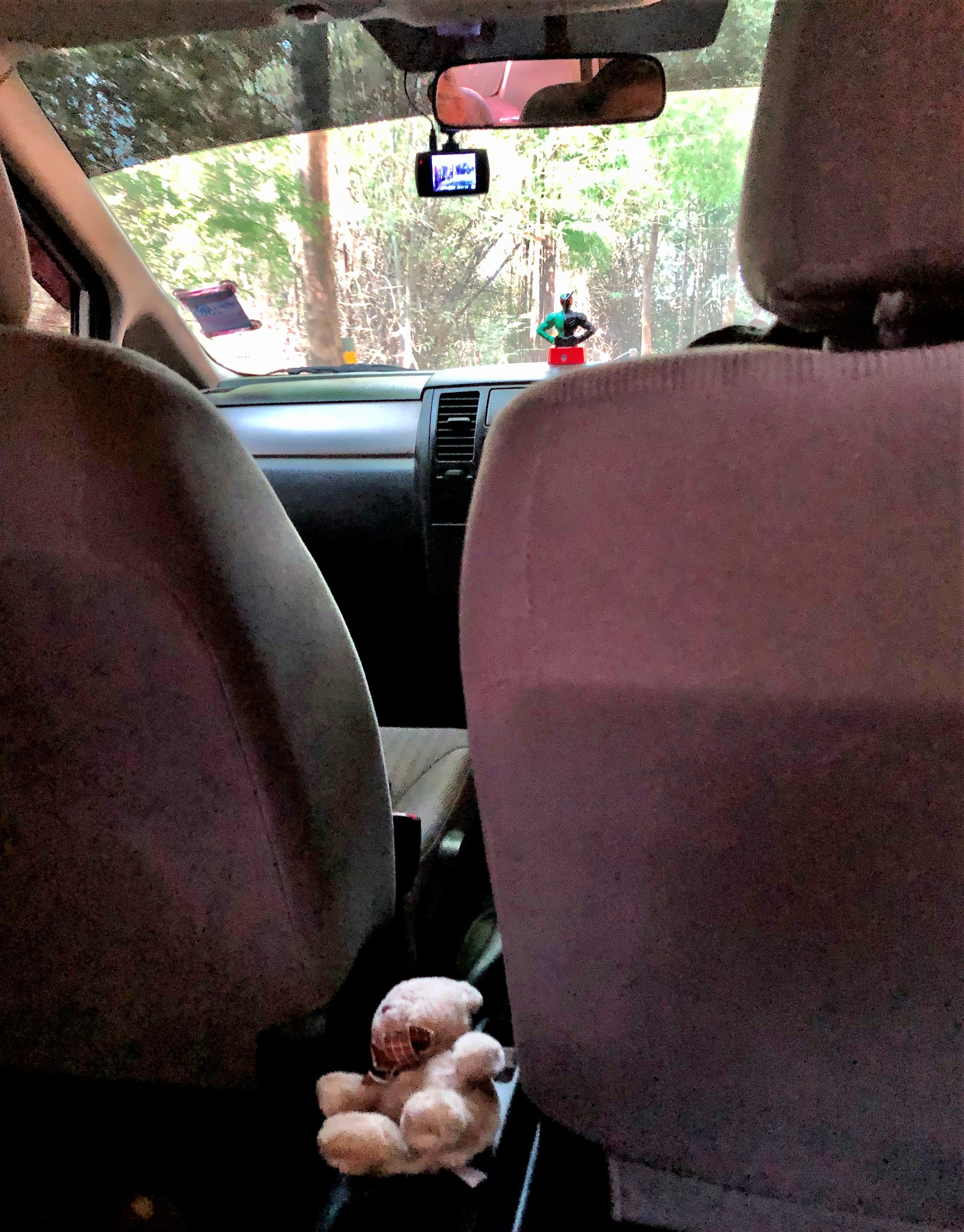 Guardians in Kai's taxi, Chiang Rai