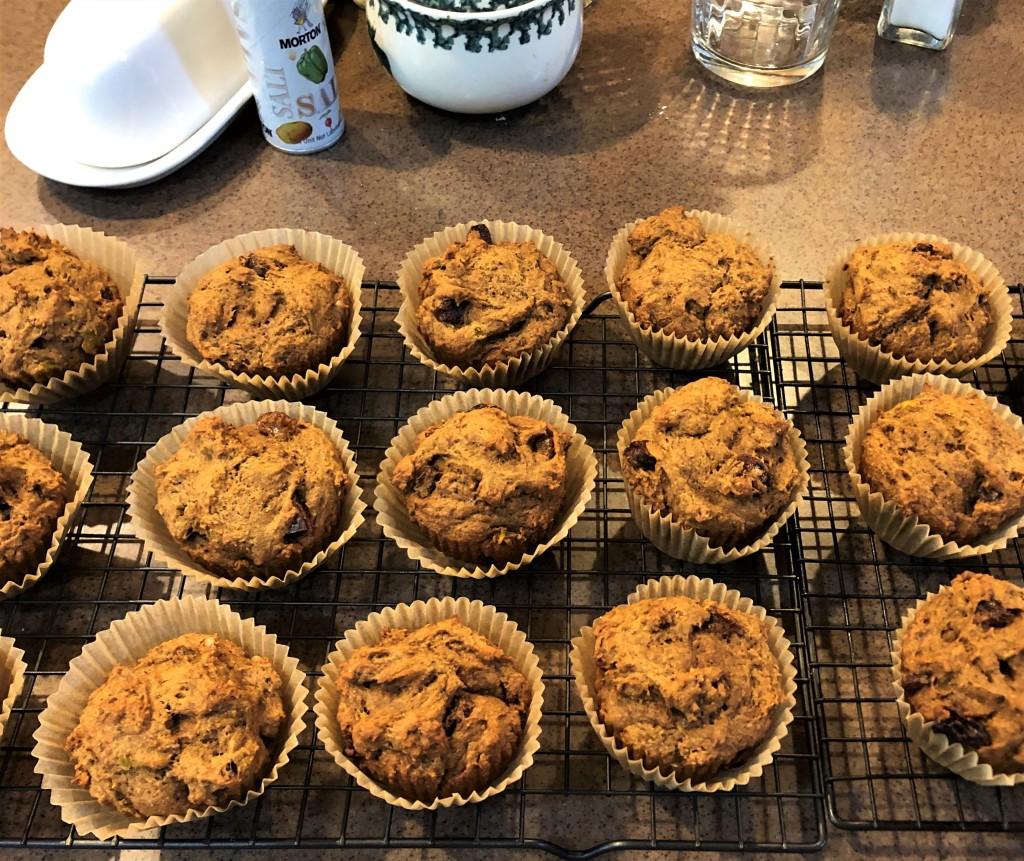 No-egg muffins for breakfast & snacks during coronavirus